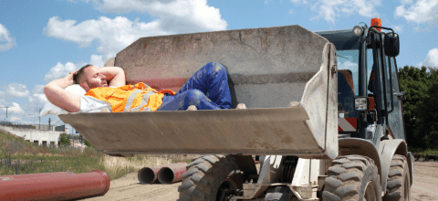 Worker Taking a Nap, Blog Feature