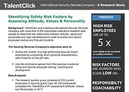 safety incident job risks
