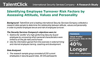 research study turnover employee