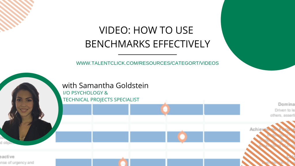 how to use effective benchmarks